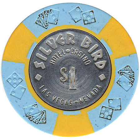 Silver Bird Casino Las Vegas $1 chip 1976 - Spinettis Gaming