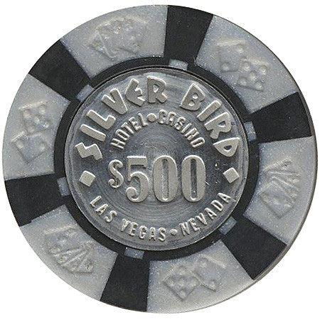 Silver Bird Casino Las Vegas $500 chip 1976
