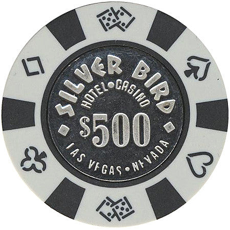 Silver Bird Casino Las Vegas $500 chip 1990s