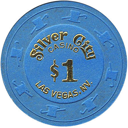 Silver City $1 (blue) chip