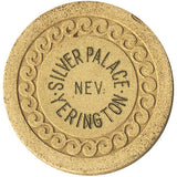 Silver Palace Yerington Roulette chip (beige) - Spinettis Gaming
