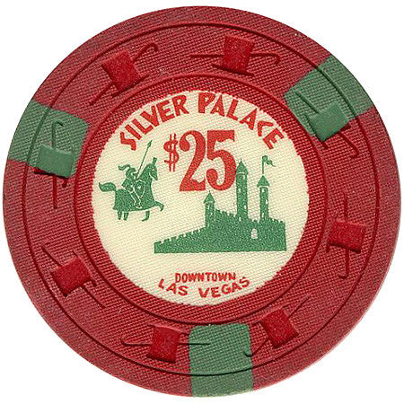 Silver Palace Casino Las Vegas $25 chip 1961 - Spinettis Gaming