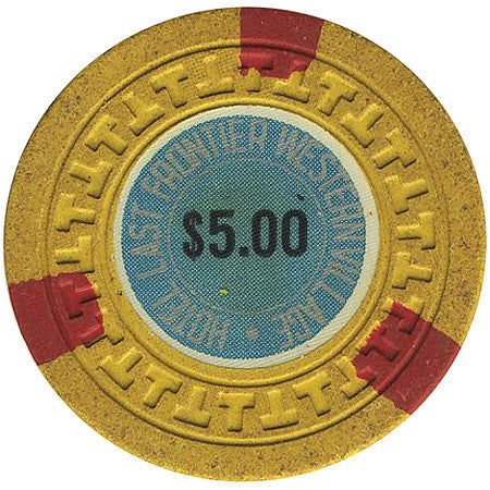 Silver Slipper $5 (yellow) chip - Spinettis Gaming - 1