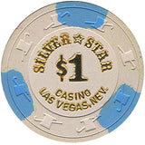 Silver Star $1 Chip - Spinettis Gaming - 2
