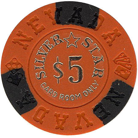 Silver Star $5 (orange) chip