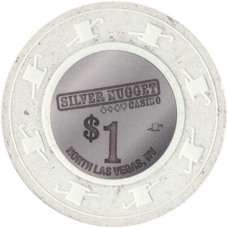 Silver Nugget North Las Vegas $1 Chip 2018