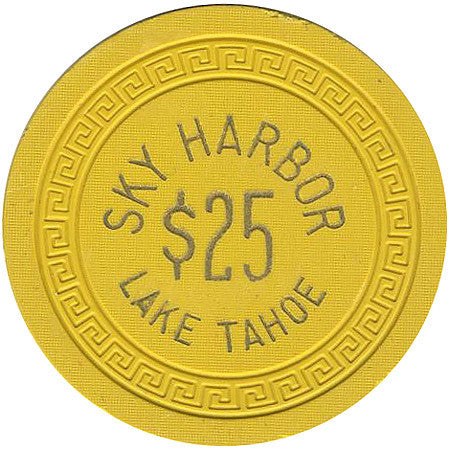 Sky Harbor $25 (yellow) chip