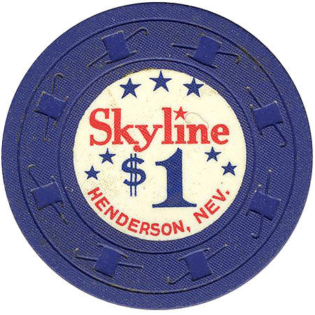 Skyline Casino Henderson NV $1 Chip 1964