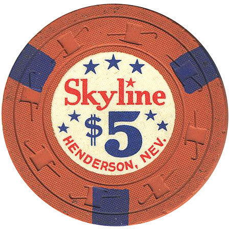 Skyline Casino Henderson NV $5 Chip 1964