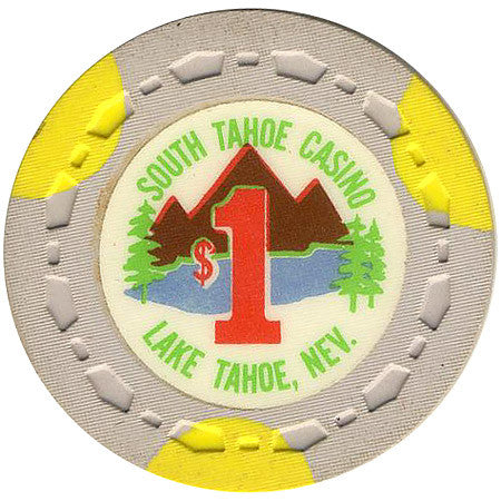 South Tahoe Casino $1 (beige) chip