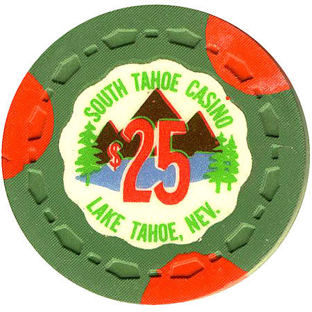 South Tahoe Casino $25 (green) chip - Spinettis Gaming - 1