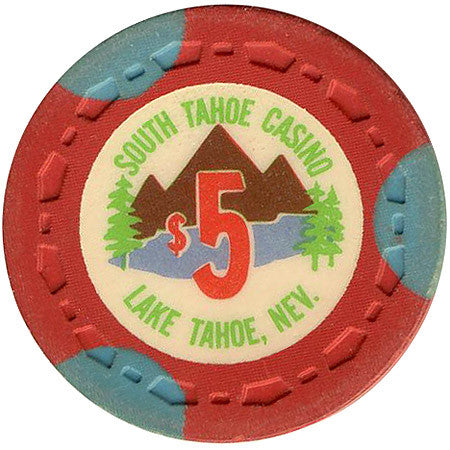 South Tahoe Casino $5 (red) chip - Spinettis Gaming - 1