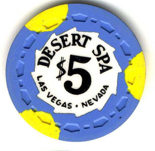 Desert Spa Casino Las Vegas $5 Chip 1958