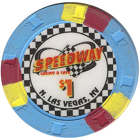 Speedway Casino North Las Vegas $1 Chip 1999