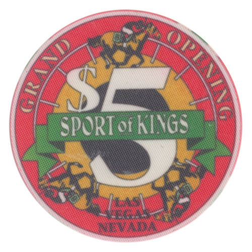 Sport of Kings Las Vegas $5 Chip 1992