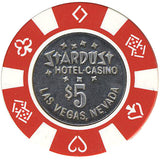 Stardust $5 (red) chip - Spinettis Gaming - 1