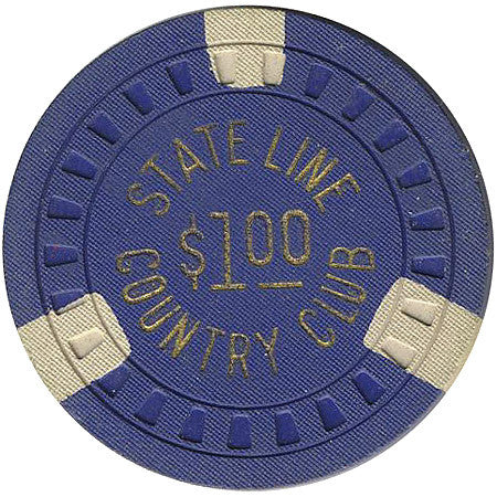 Stateline Country Club $1 (blue) chip