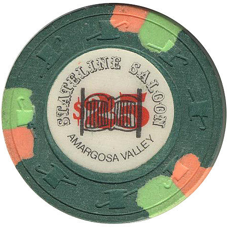 Stateline Saloon $25 (green) chip - Spinettis Gaming - 1