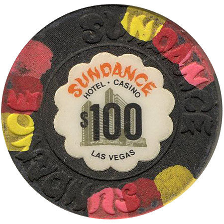 Sundance Casino Las Vegas NV $100 Chip 1980