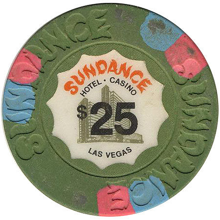 Sundance Casino Las Vegas NV $25 Chip 1980