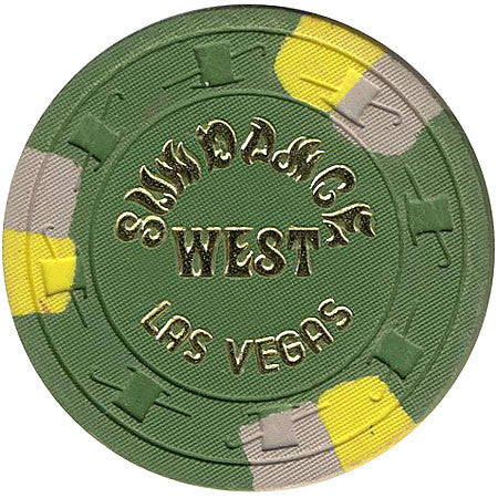 Sundance Casino $25 (green) chip - Spinettis Gaming - 2