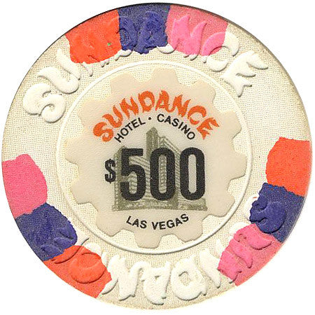 Sundance Casino Las Vegas NV $500 Chip 1980