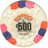 Sundance Casino $500 (white) chip - Spinettis Gaming - 1