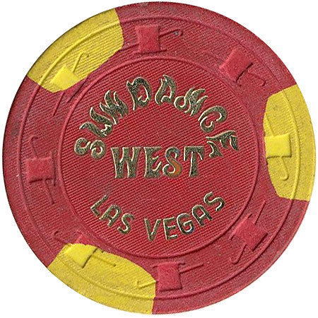 Sundance West $5 (red) chip - Spinettis Gaming - 1
