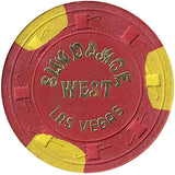 Sundance West $5 (red) chip - Spinettis Gaming - 2