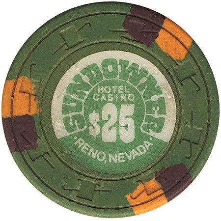 Sundowner Casino $25 (green) chip