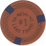Ta-Neva-Ho $1 (orange) chip - Spinettis Gaming - 2