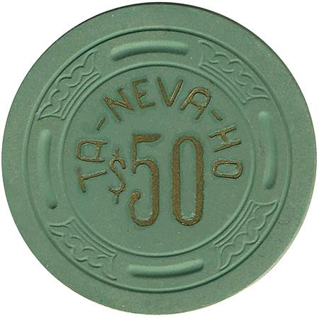 Ta-Neva-Ho $50 (green) chip - Spinettis Gaming - 1
