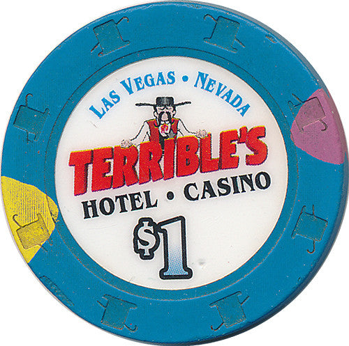 Terrible's, Las Vegas NV $1 Casino Chip - Spinettis Gaming - 1