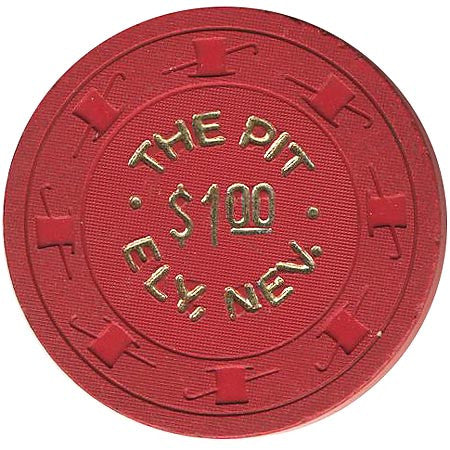 The Pit Casino Ely NV $1 Chip 1950s