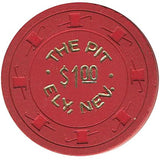 The Pit $1 (red) chip - Spinettis Gaming - 1