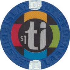 Treasure Island, Las Vegas Nevada $1 Casino Chip 2003