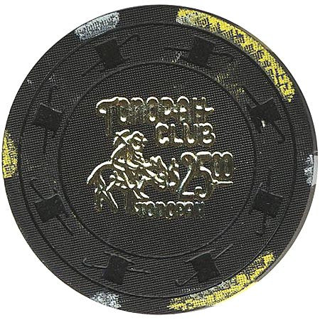 Tonopah Club $25 (black) chip