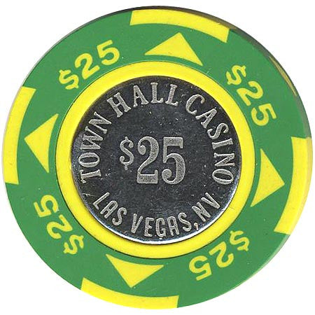 Town Hall $25 (green) chip