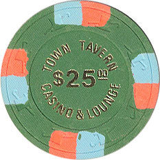 Town Tavern $25 Las Vegas Nevada Casino Chip