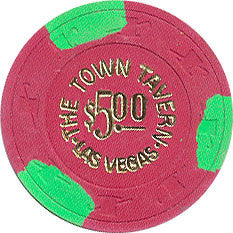 Town Tavern $5 Las Vegas Nevada Casino Chip