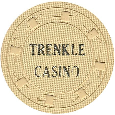 Trenkle Casino $1 (beige) chip