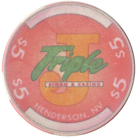 Triple J Bingo & Casino Henderson NV $5 Chip 1995