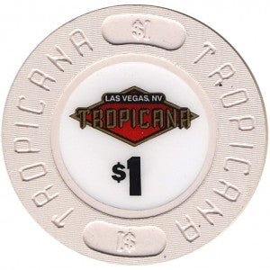 Tropicana Las Vegas $1 Casino Chip 1990s