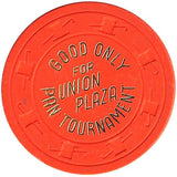 Union Plaza (NCV) (orange) Pan Tournament chip - Spinettis Gaming - 2