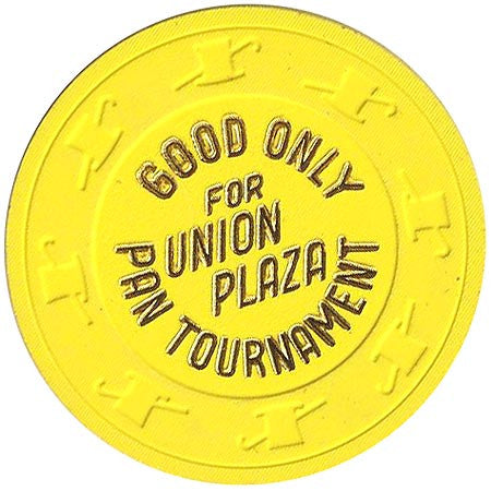 Union Plaza (NCV) (yellow) Pan Tournament chip