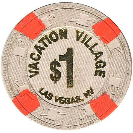 Vacation Village $1 (gray) chip