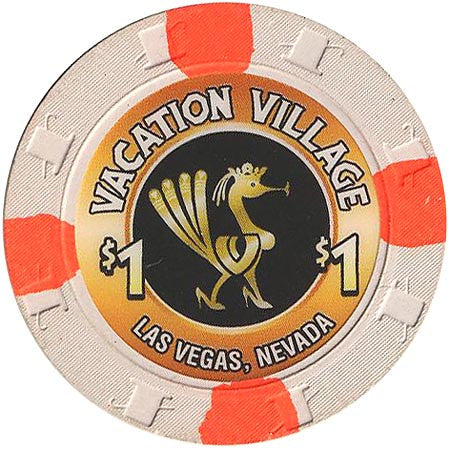 Vacation Village $1 (white) chip