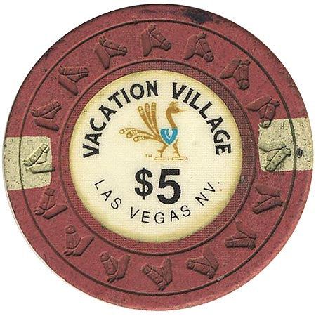 Vacation Village $5 (purple) chip