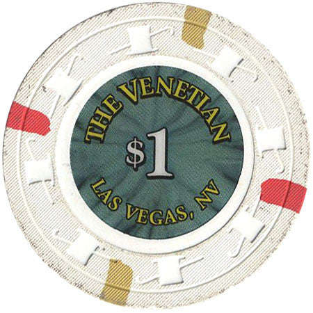 The Venetian Casino Las Vegas $1 Chip - Spinettis Gaming