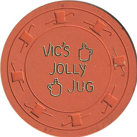 Vic's Jolly Jug $1 (orange) chip